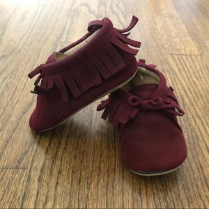 Old Navy Faux-Suede Moccasin Booties